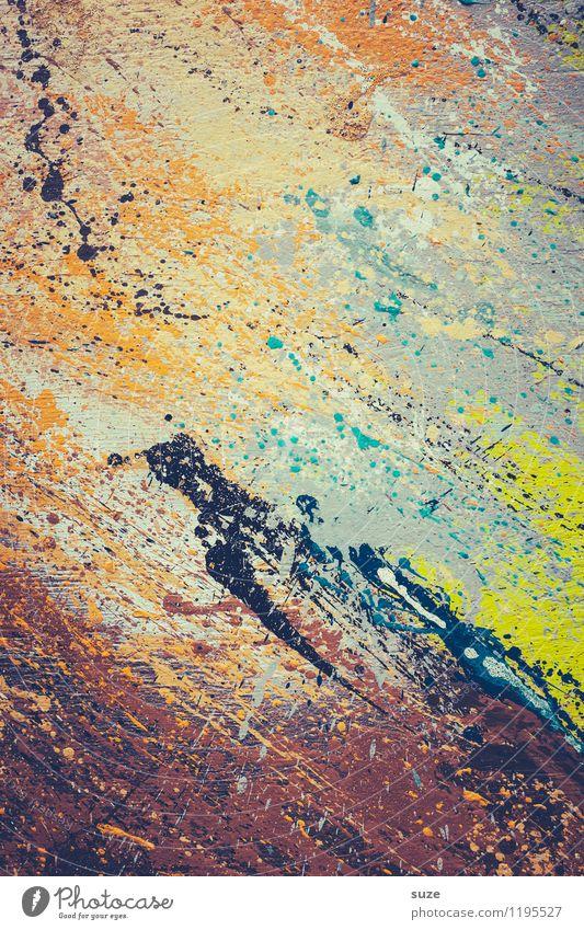 Alles muss man selber machen ... lassen! Stil Design Kunst Kunstwerk Gemälde streichen ästhetisch außergewöhnlich einzigartig modern verrückt wild Toleranz