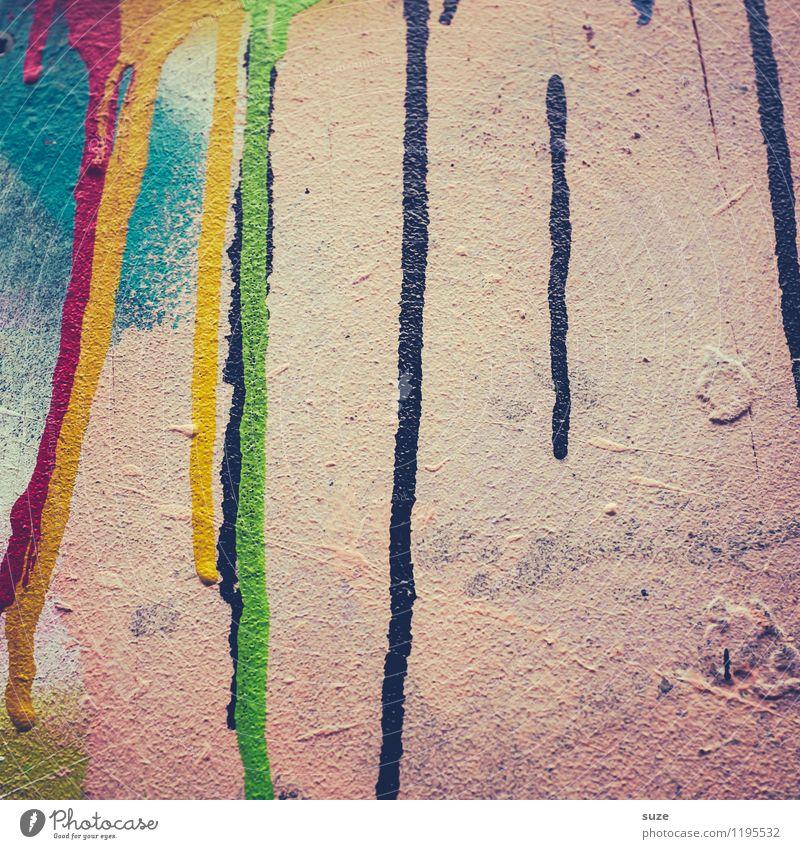 Freistil | Punk Farbe Wand Farbstoff Stil Mauer Hintergrundbild Kunst Design wild verrückt ästhetisch Kreativität einfach einzigartig malen streichen