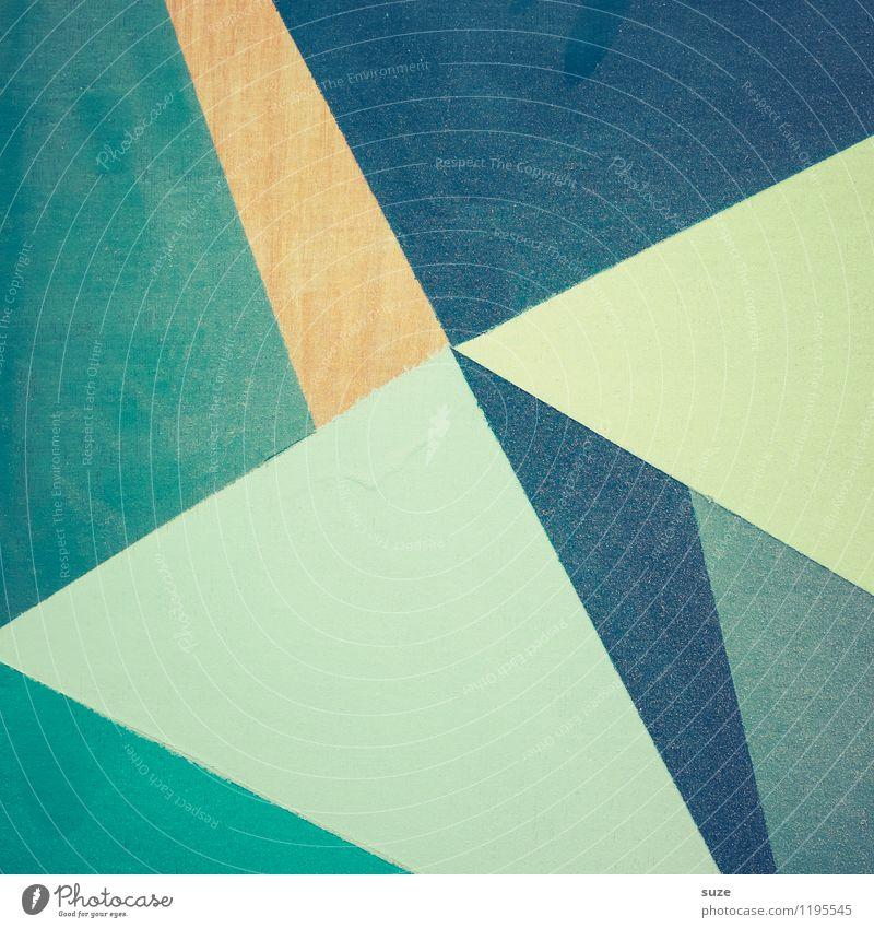 Vielfältig | Teilen Farbe kalt Stil Hintergrundbild Lifestyle Linie Kunst Freizeit & Hobby Design Dekoration & Verzierung Ordnung modern ästhetisch Kreativität