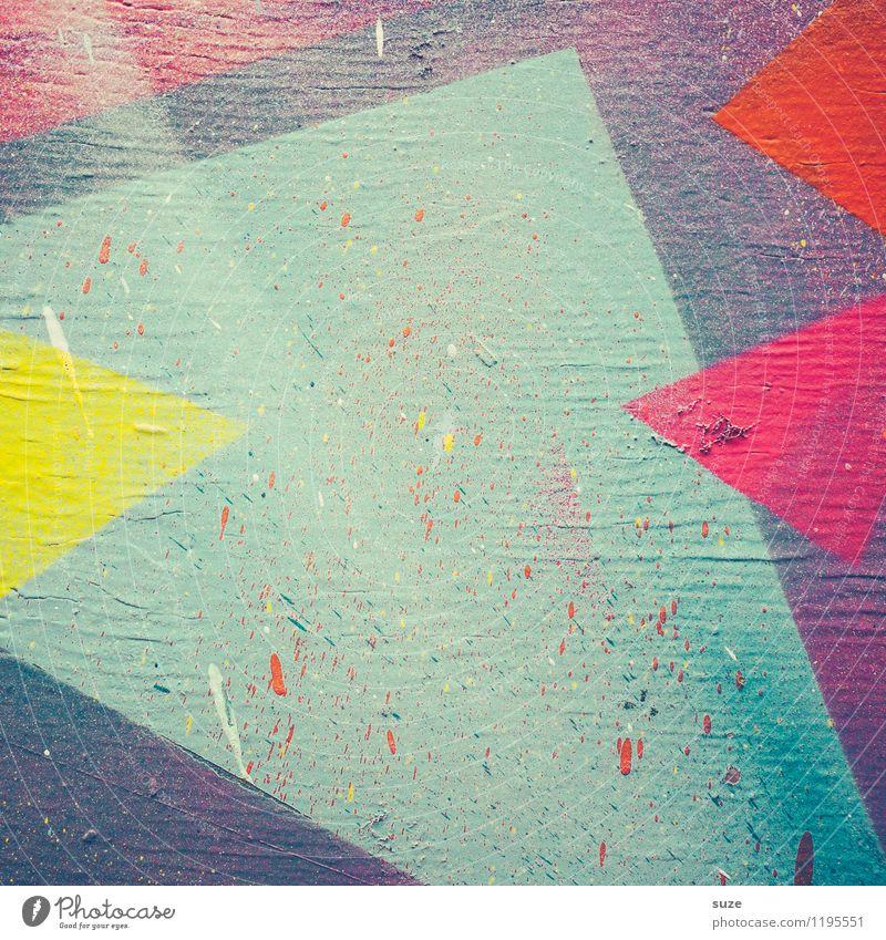 Freistil | Disco Lifestyle Stil Design Kunst Kunstwerk Gemälde Mauer Wand ästhetisch eckig einfach einzigartig modern Toleranz Farbe innovativ Inspiration