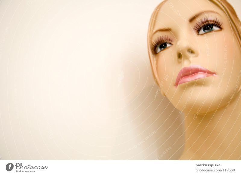 jacqueline & Model Frau Silhouette Bekleidung Stil Schaufenster Ladengeschäft Profil Illusion trendy Puppe sales