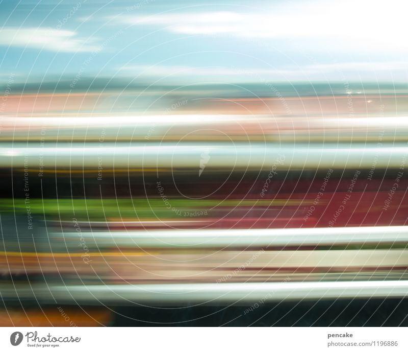 ge|schwindelig|keit Verkehr Autofahren Lastwagen Zeichen Geschwindigkeit Himmel (Jenseits) Farbfoto Außenaufnahme Hintergrund neutral