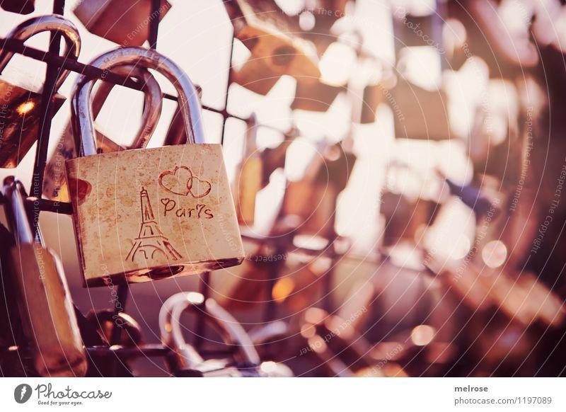 AUS für Liebesschlösser Ferien & Urlaub & Reisen Stadt weiß Liebe Stil Glück braun Zusammensein träumen Design leuchten gold Brücke einzigartig entdecken Tradition