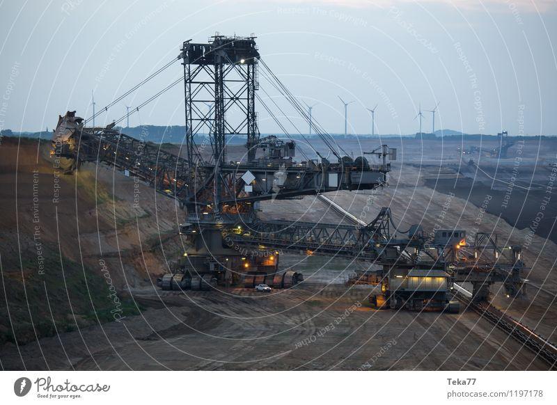 tage BAU IIII Werkzeug Maschine Baumaschine Technik & Technologie Energiewirtschaft Kohlekraftwerk Kraft ästhetisch bizarr chaotisch Konflikt & Streit