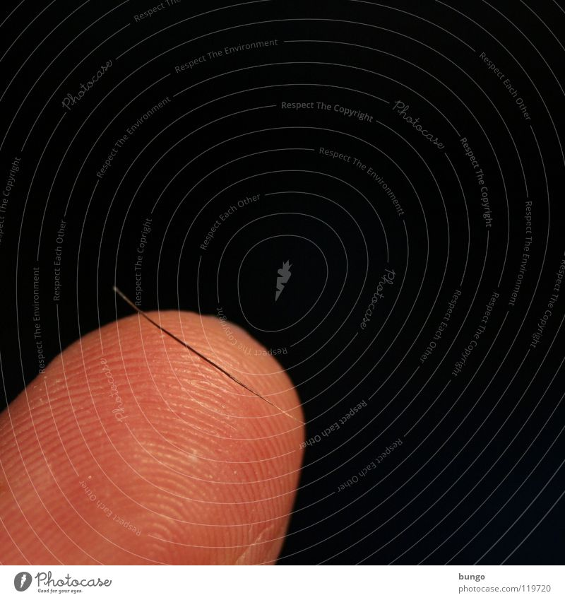 Wunschlos glücklich Wimpern Finger Fingerkuppe Zeigefinger Fingerabdruck ausfallen Härchen fein klein Mann Haut Haare & Frisuren