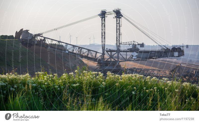 tage BAU V Maschine Baumaschine Energiewirtschaft Kernkraftwerk Kohlekraftwerk Industrie Umwelt Natur Landschaft Erde Kraft Braunkohlentagebau Braunkohlenbagger