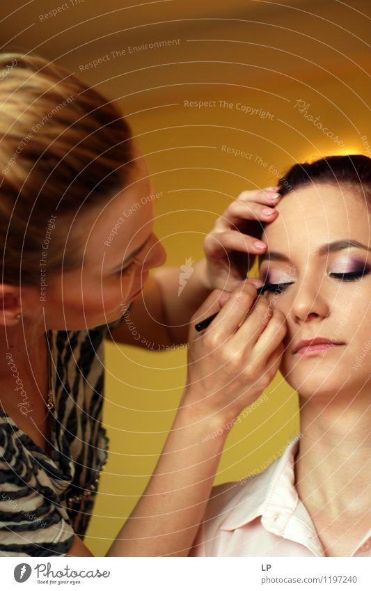 Mensch Jugendliche schön Junge Frau ruhig Gesicht feminin Stil Gesundheit Haare & Frisuren Lifestyle Mode frisch elegant Haut einzigartig