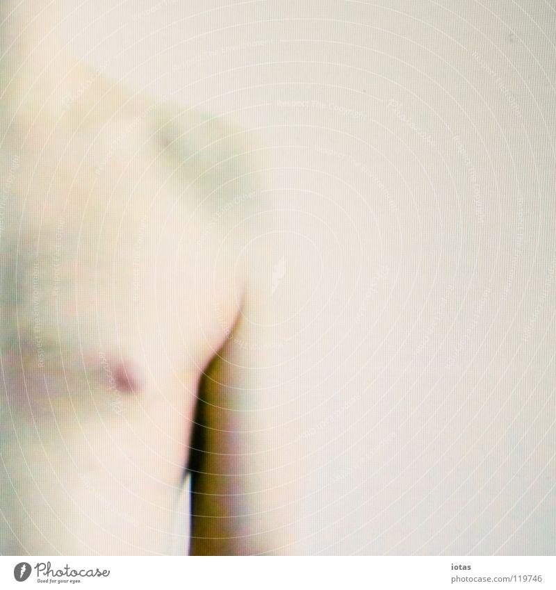 videostill 2 Mann ruhig nackt Körper maskulin Medien Surrealismus Video Projekt