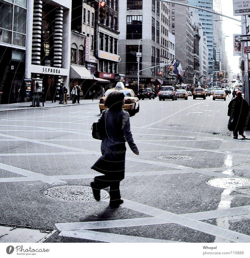 On the Run laufen rennen Geschwindigkeit Stress New York City Eile