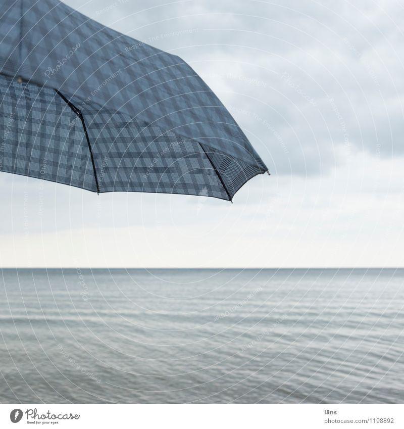 besser ist besser Himmel Natur Ferien & Urlaub & Reisen Wasser Erholung Meer Einsamkeit Wolken Ferne Strand Umwelt Küste Freiheit Zufriedenheit Tourismus Wellen