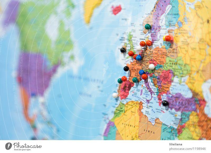 Die Welt erobern Ferien & Urlaub & Reisen Meer Landschaft Ferne Strand Freiheit Schule Erde Freizeit & Hobby Tourismus Schilder & Markierungen Ausflug lernen