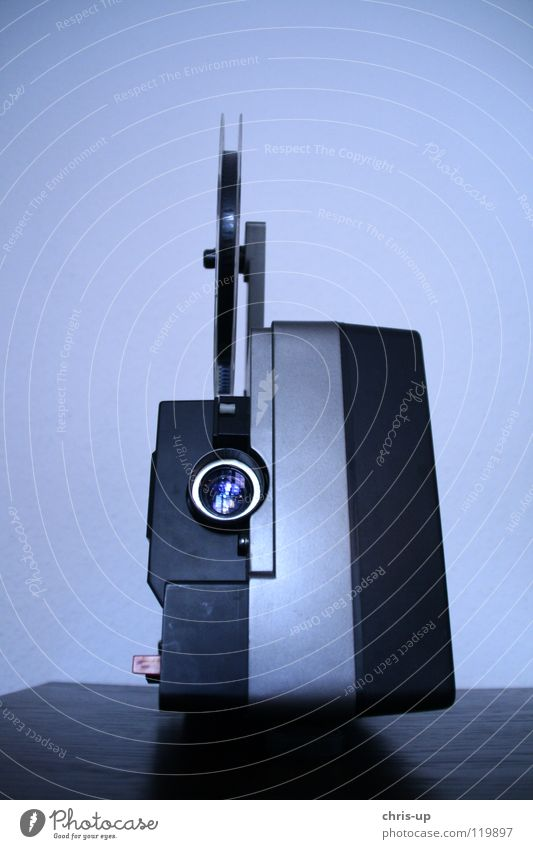 Filmprojektor alt Lampe Filmmaterial Technik & Technologie Bild Theater Kino Jahr Videokamera 8 Rolle Siebziger Jahre Prima Entertainment Meter