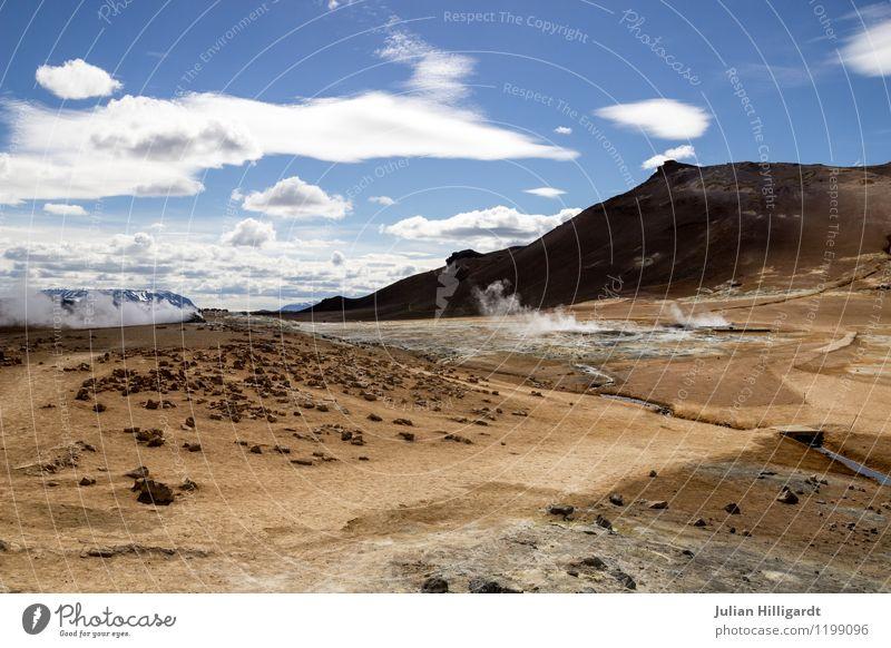 wüstes Island Lifestyle Freizeit & Hobby Ferien & Urlaub & Reisen Freiheit Sommer Umwelt Natur Landschaft Urelemente Sand Himmel Wolken Wetter authentisch