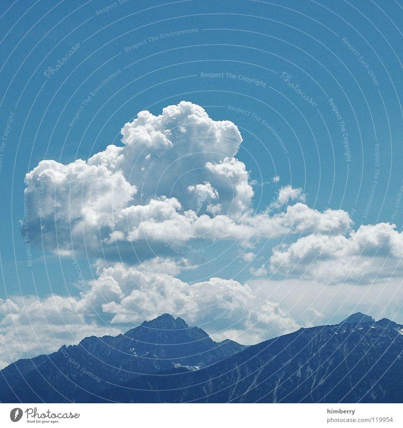 riviera royal XVIII Himmel blau Sommer Ferien & Urlaub & Reisen Wolken Berge u. Gebirge träumen Landschaft wandern groß Aussicht Freizeit & Hobby Klettern Alpen