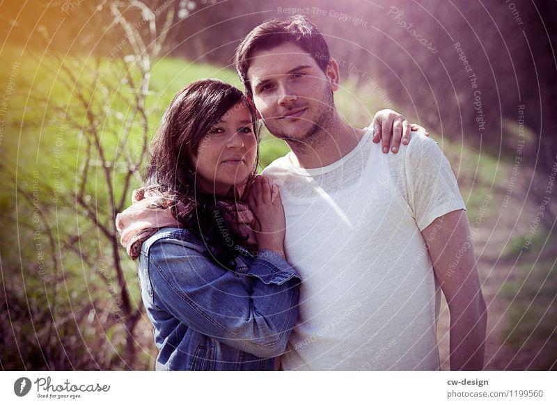 Christoph & Julia Mensch Jugendliche Junge Frau Junger Mann Freude 18-30 Jahre Erwachsene Leben Liebe Gefühle feminin Glück Paar Zusammensein Freundschaft maskulin