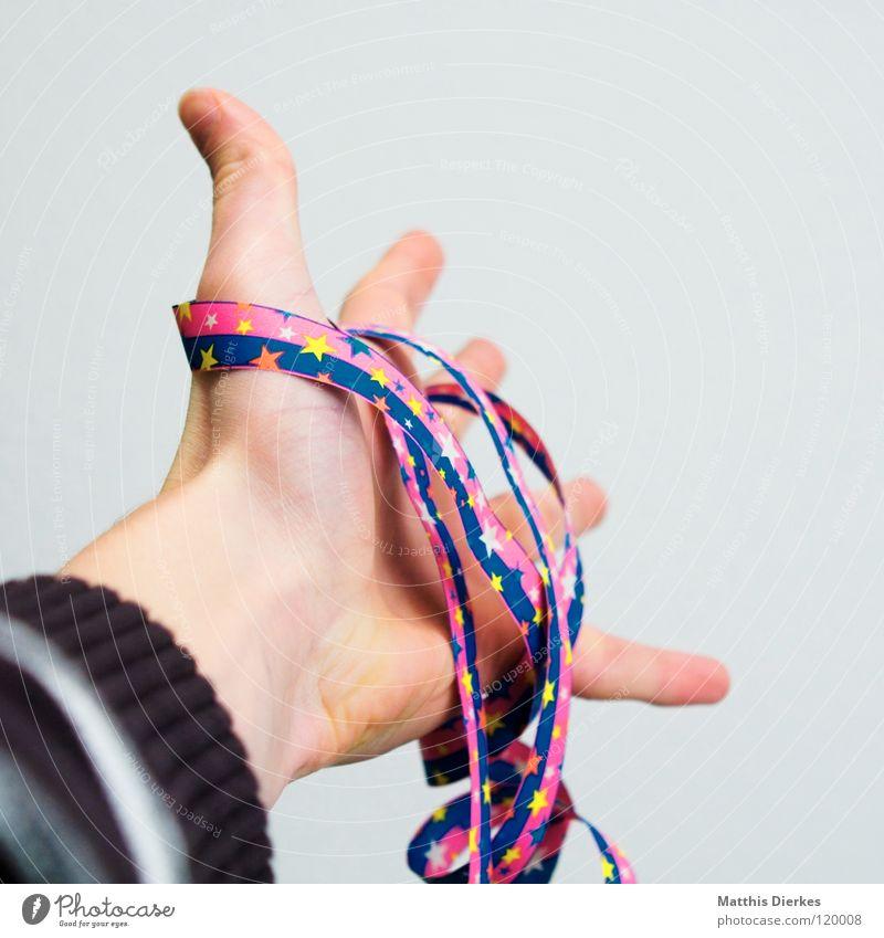 Reichweite Hand Freude Glück Party lustig Feste & Feiern Mund Geburtstag Fröhlichkeit Finger Stern (Symbol) Bekleidung Dekoration & Verzierung Maske