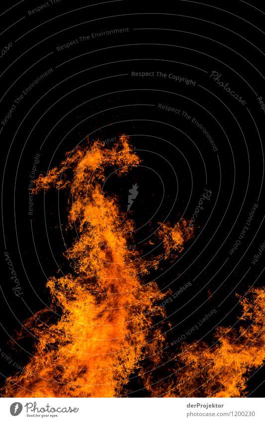 Feuerdrache Natur Ferien & Urlaub & Reisen Landschaft Ferne schwarz Umwelt Gefühle Frühling orange Tourismus Kraft Erfolg Ausflug bedrohlich Abenteuer Feuer