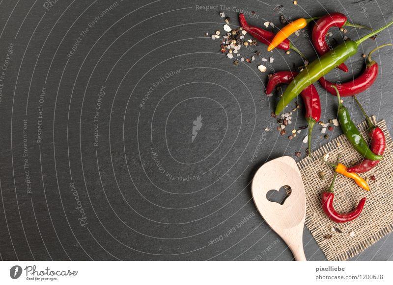 Kochen Hintergrund Gesunde Ernährung schwarz Liebe Essen Holz Gesundheit Hintergrundbild Stein Kochen & Garen & Backen Herz Scharfer Geschmack Kräuter & Gewürze Küche Gastronomie Restaurant Backstein