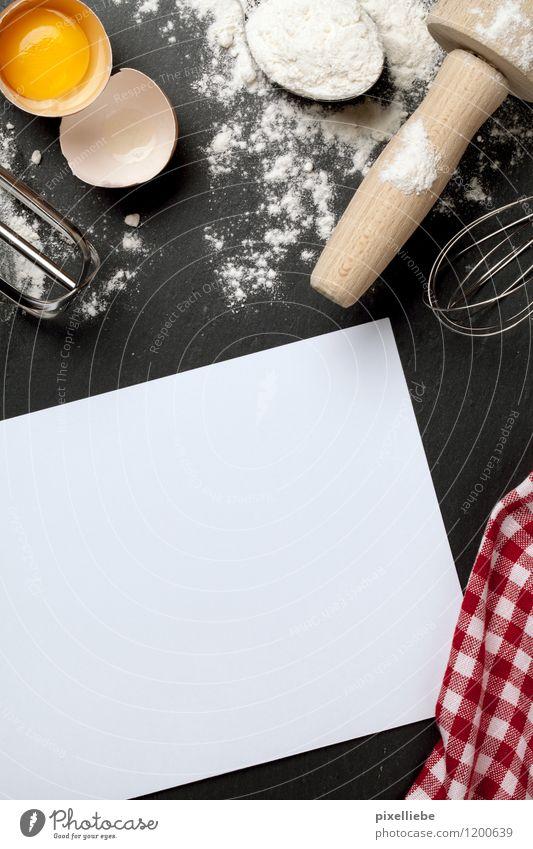 Backe backe Kuchen... Essen Holz Stein Lebensmittel Ernährung Kochen & Garen & Backen Papier Küche lecker Süßwaren Restaurant Backstein Geschirr Ei Tafel