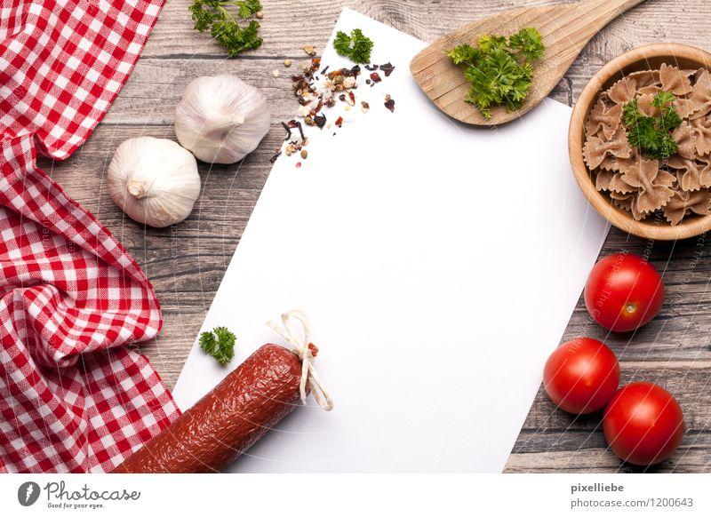 Bella Italia Essen Holz Lebensmittel Tisch Ernährung Kochen & Garen & Backen Papier Kräuter & Gewürze Küche Gemüse Gastronomie lecker Restaurant