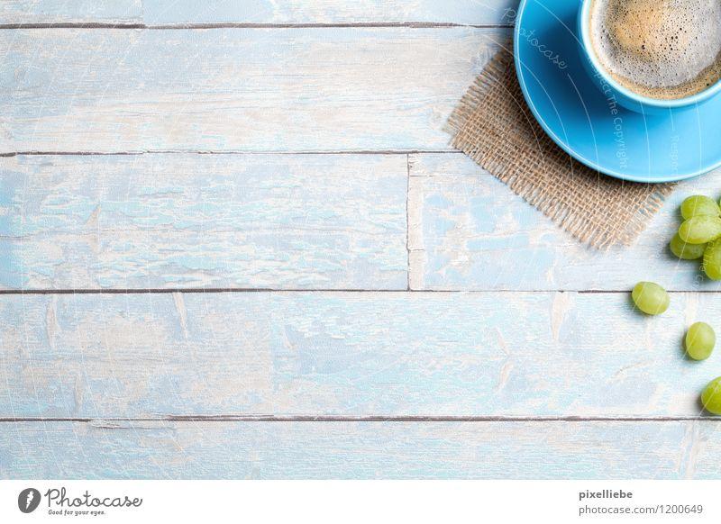 Frische-Kick am Morgen Lebensmittel Frucht Ernährung Frühstück Kaffeetrinken Vegetarische Ernährung Diät Heißgetränk Espresso Geschirr Tasse Gesundheit