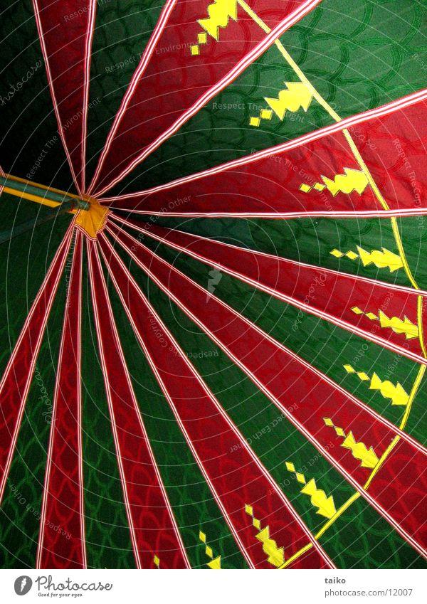 Zelthimmel grün rot gelb München Marokko Nomaden