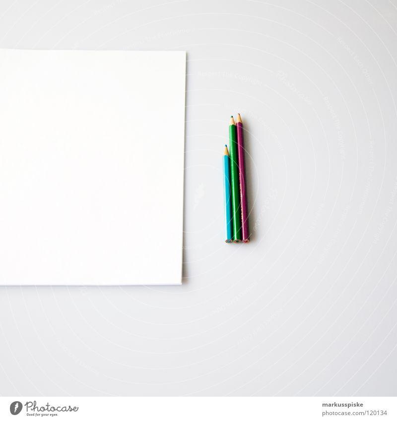notier doch ma... weiß Farbe Schriftzeichen Hinweisschild 3 lernen Kreativität streichen schreiben Tisch Sitzung Typographie zeichnen Schreibtisch Schreibstift