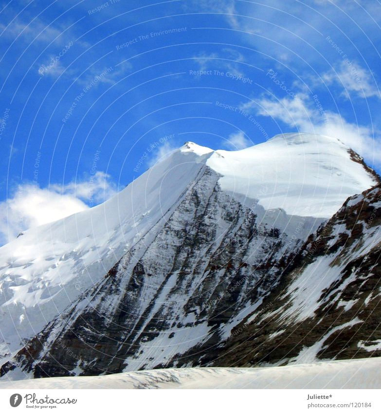Big Mountain IV Himmel Schnee Berge u. Gebirge wandern gehen Wind laufen Felsen Schweiz Klettern Bergsteigen