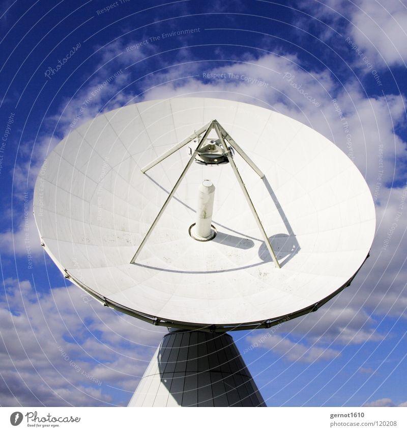 Galactica senden Sendgericht hören live Datenübertragung Suche finden Satellitenantenne Fernsehen Radioteleskop Teleskop High-Tech Funktechnik Wissenschaften