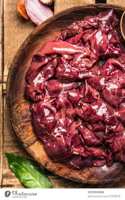 Hähnchenleber zubereiten Gesunde Ernährung Stil Essen Lebensmittel Design Tisch Kochen & Garen & Backen Kräuter & Gewürze Küche Bioprodukte Schalen & Schüsseln