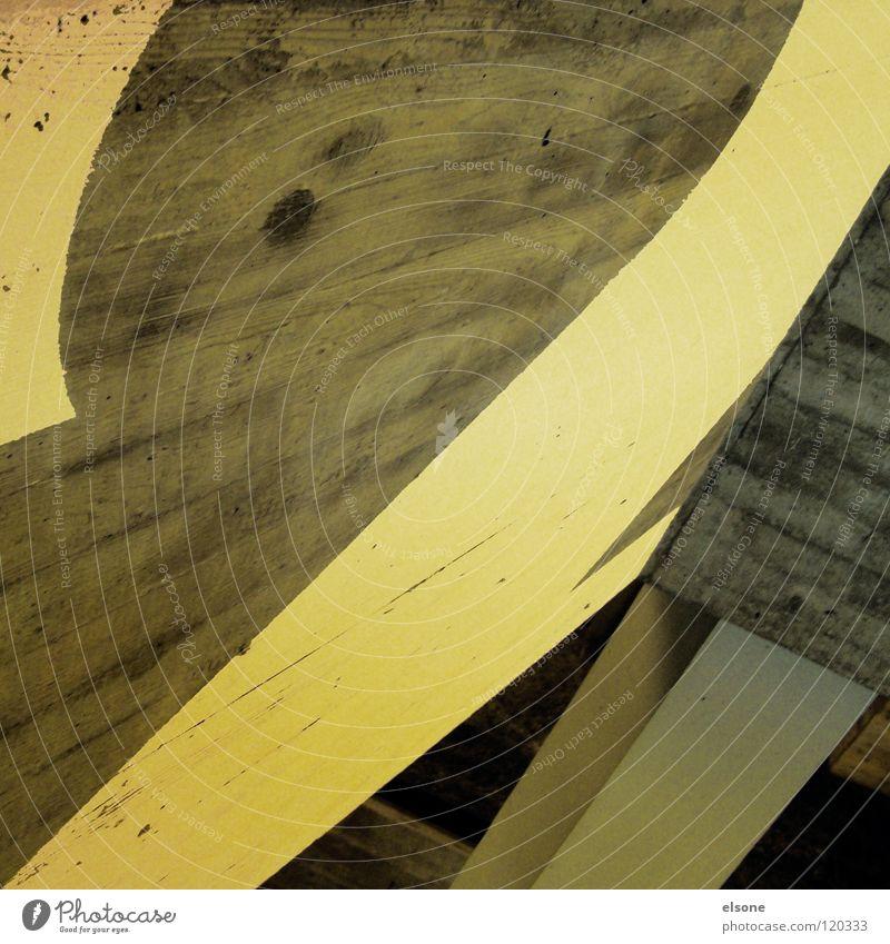 ::ZWEI:: Haus gelb Farbe Raum Beton modern streichen Innenarchitektur Etage Typographie Flur Treppenhaus Öffentlicher Dienst