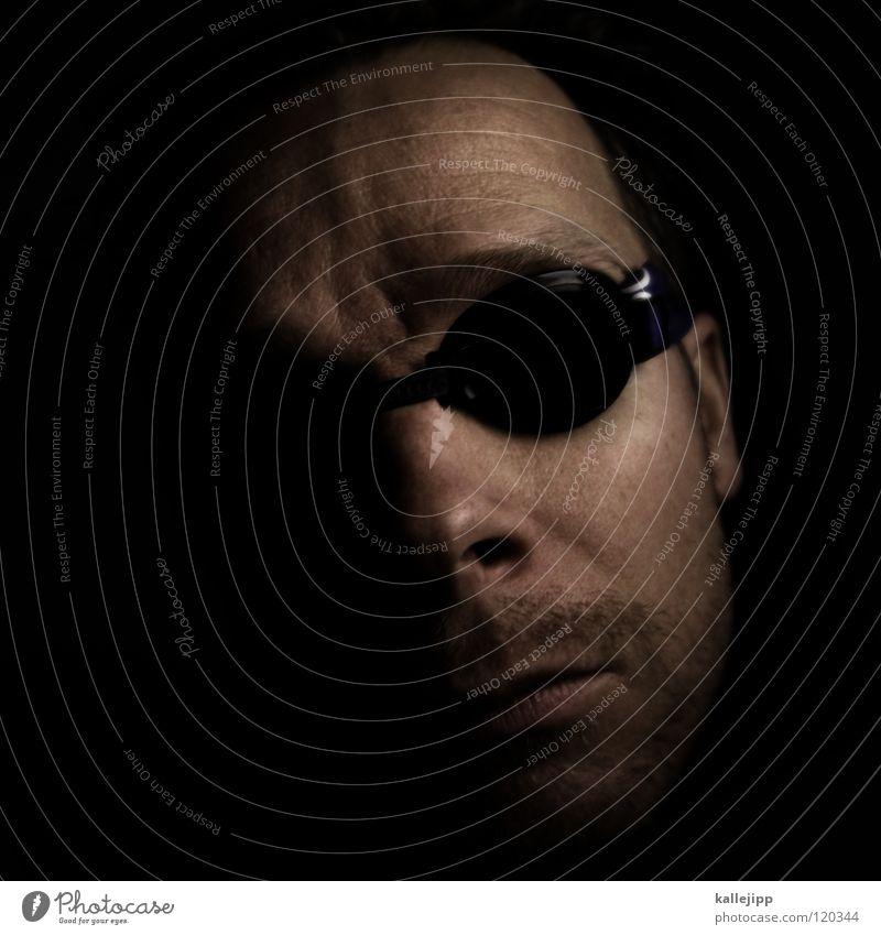 fisheye Schwimmen & Baden Freizeit & Hobby Coolness Brille tauchen Leidenschaft atmen Sonnenbrille Sportler Wassersport Selbstportrait Techno Delphine