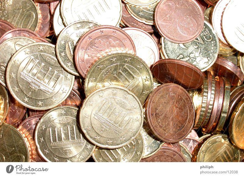 EuroMünzenClose Geldmünzen Hintergrundbild Kapitalwirtschaft Bargeld Wechselgeld reich Taschengeld Dinge Dienstleistungsgewerbe close up coins money cash change