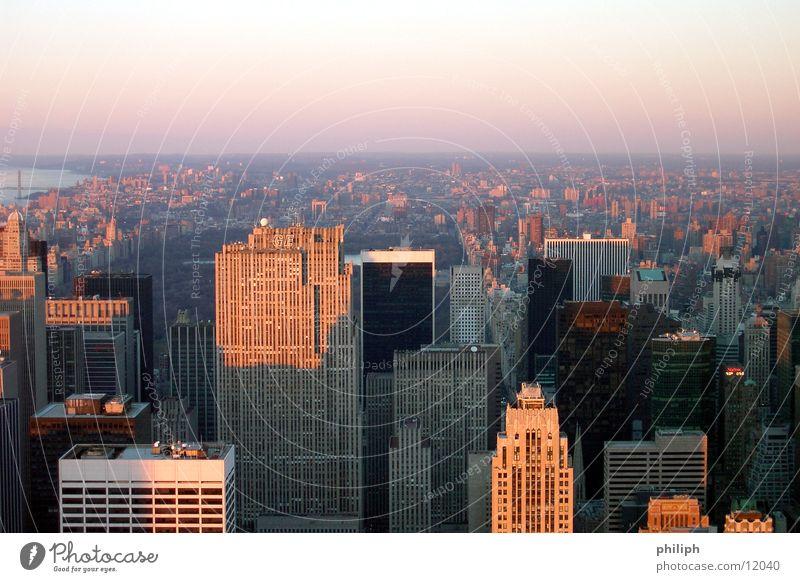 ManhattanEmpire Haus Architektur Hochhaus hoch USA New York City Skyline