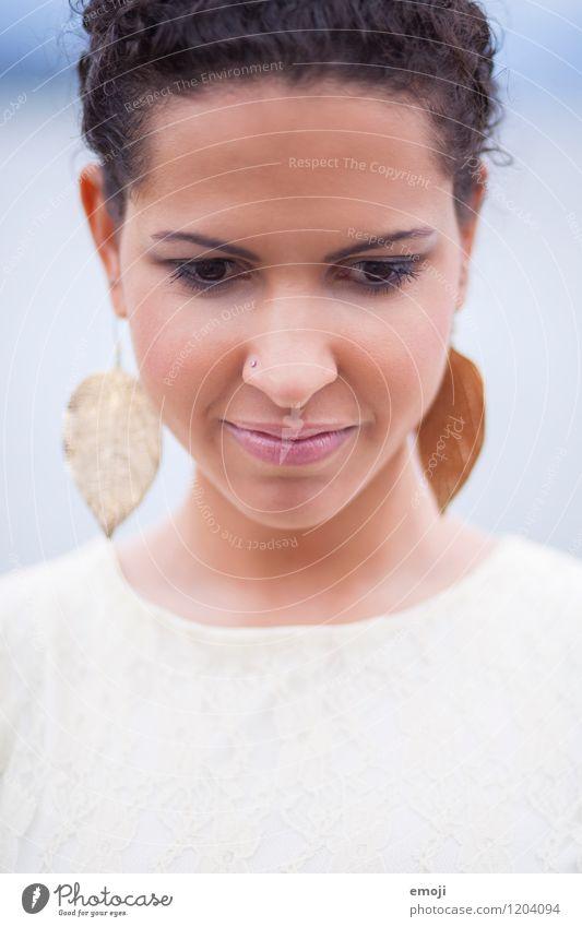face Mensch Jugendliche schön Junge Frau 18-30 Jahre Erwachsene Gesicht feminin