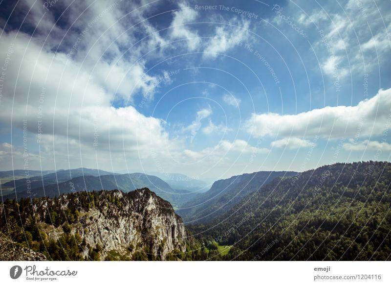 Bild für Bier-Werbung Himmel Natur blau Sommer Landschaft Wolken Ferne Wald Umwelt natürlich Schönes Wetter Hügel
