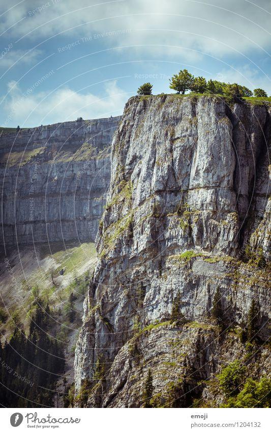 imposant Natur Sommer Landschaft Berge u. Gebirge Umwelt natürlich Felsen Tourismus Unendlichkeit Schweiz Am Rand Schlucht Wandertag Ausflug Wanderausflug