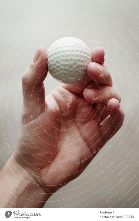 robin woods Golfball rund Hand Finger Golfer Griff Freude Ballsport Freizeit & Hobby Behinderte fangen festhalten in der hand