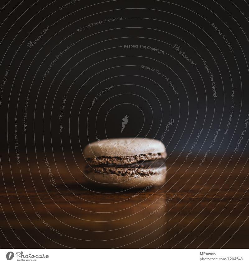 macaron Essen klein braun Lebensmittel Ernährung trocken Frühstück Schokolade Keks