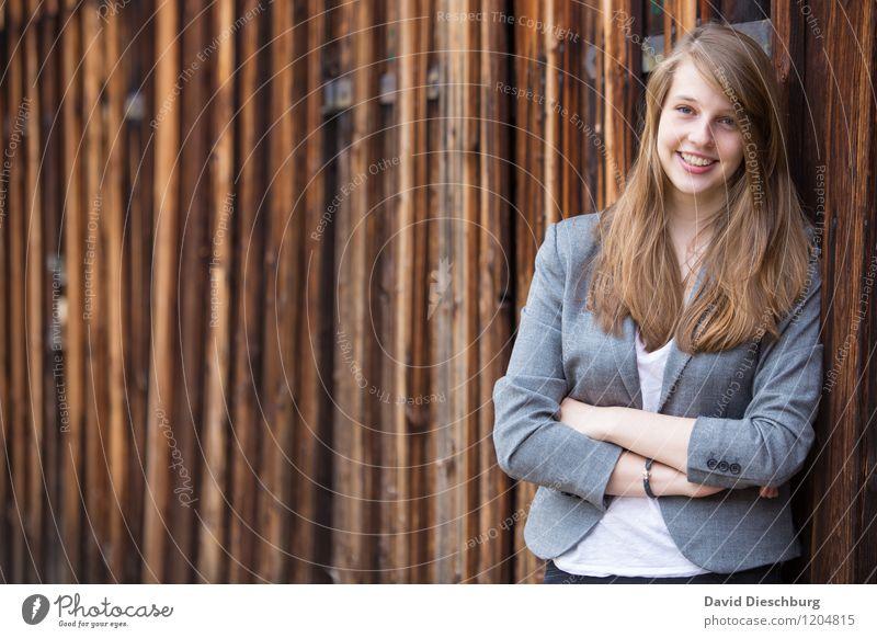 Katharina Mensch Kind Jugendliche Junge Frau feminin Glück lachen Arbeit & Erwerbstätigkeit Zufriedenheit 13-18 Jahre Erfolg Fröhlichkeit Arme lernen Studium