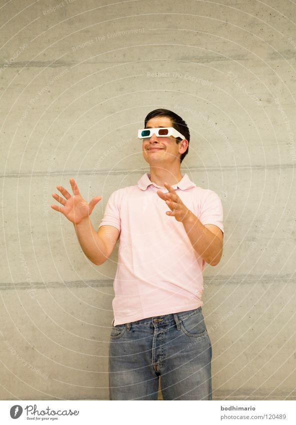 PlemPlem Man Mann Freude lustig rosa verrückt dumm blind Dummkopf Dimension
