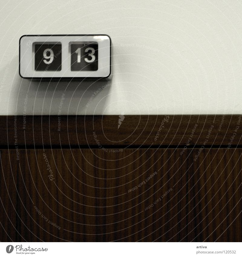 clock Büro Beruf Holz 9 13 Holzmehl