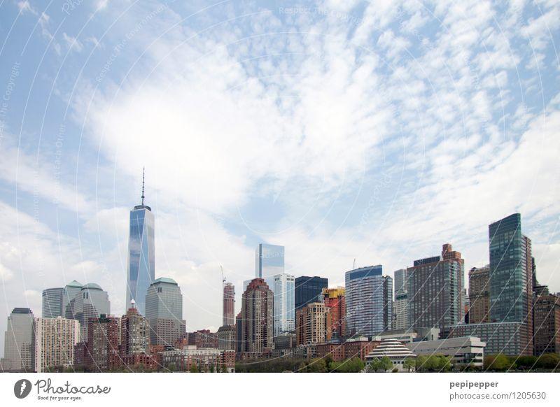 NYC Ferien & Urlaub & Reisen Tourismus Sightseeing Städtereise Sommer Häusliches Leben Arbeitsplatz Büro Wirtschaft Handel Kapitalwirtschaft Business Stadt