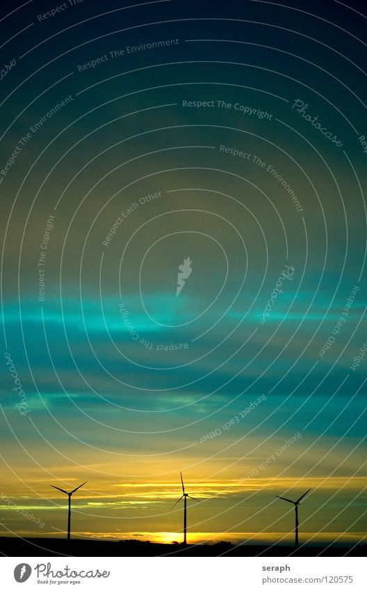 Windkrafträder Himmel Sonne Umwelt Energiewirtschaft Elektrizität Technik & Technologie Sauberkeit Tragfläche Windkraftanlage Konstruktion Umweltschutz