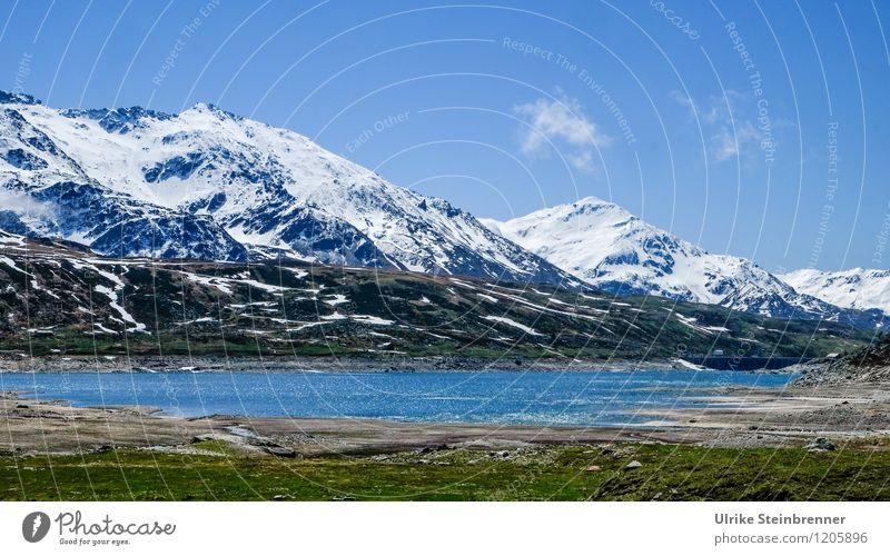 Naturbad 2 Ferien & Urlaub & Reisen Tourismus Ausflug Abenteuer Schnee Berge u. Gebirge wandern Umwelt Landschaft Wasser Himmel Schönes Wetter Felsen Alpen