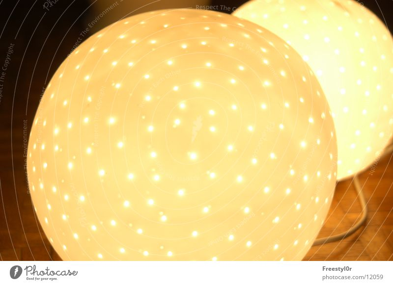 lämplein Lampe Häusliches Leben Punkt Kugel