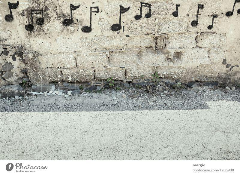 Ein Lied für Dich Haus Wand Graffiti Mauer Spielen Stimmung Fassade Musik Schriftzeichen Fröhlichkeit Tanzen Zeichen Gemälde Künstler Musikinstrument Maler