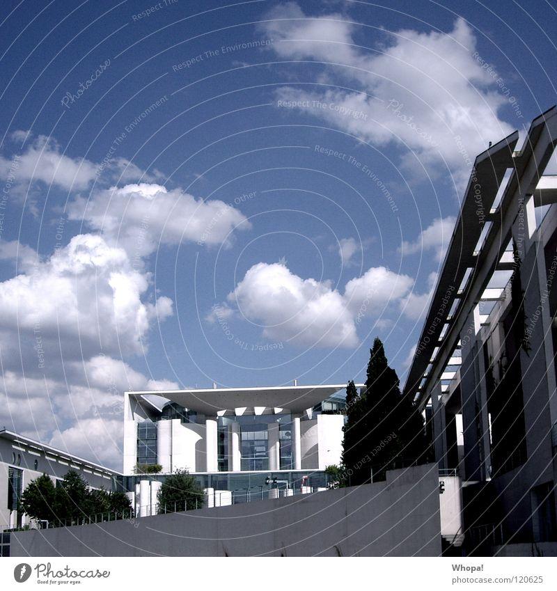 Angies Castle Himmel blau Wolken Berlin Architektur Deutschland Politik & Staat Bundeskanzler Amt