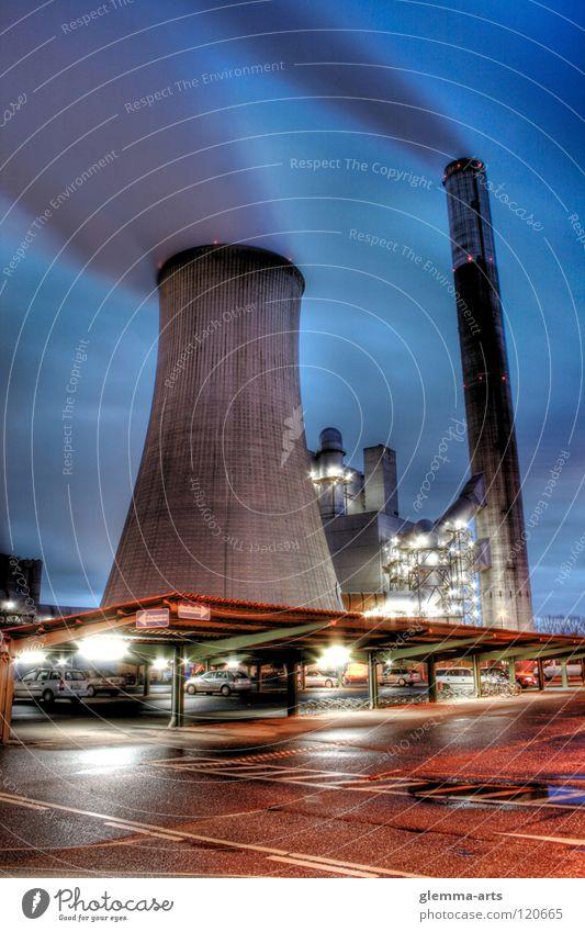 Gut für die Umwelt? Wolken Farbe Umwelt Industrie Umweltverschmutzung HDR Stromkraftwerke