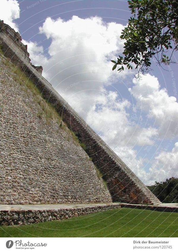 Pyramide des Zauberers Azteken Maya Tempel Götter Mexiko historisch Verehrung